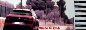'Cazan' en Llucmajor a un conductor a 115 km/h en un vía limitada a 40