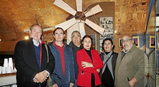 Antonio García Ruíz, Antonio Pérez, Xisco José, Margherita Runcio, África Wellch y Andreu Negre.