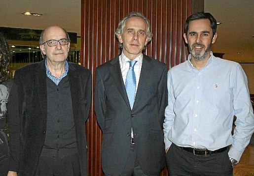 Oriol Bonnín, Ignacio Segura y Tomás Ripoll.