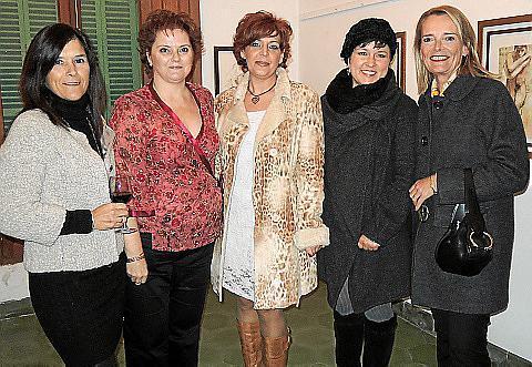 Lina Enrich, Gina Mayrata, Aina Salom, Olga Smertina y Anne Sinn.
