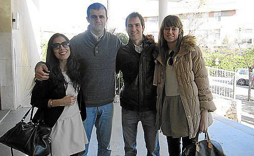 Ana López, Biel Cardell, Miquel Ángel Carbonell y Lorena Puértolas