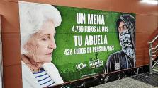 El juez rechaza retirar el cartel electoral de Vox sobre menores extranjeros