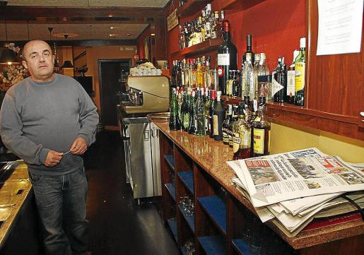 Pep Bauçà, el dueño del restaurante asaltado.
