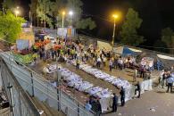 Avalancha mortal en Israel durante una festividad religiosa