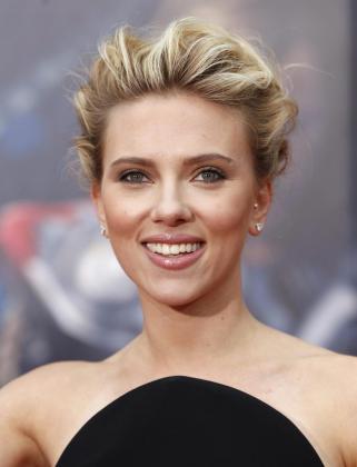 La actriz Scarlett Johansson.
