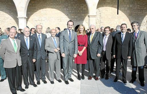Juan y Rafael Perera, Antoni Mas, Antonio Gómez, José Ramón Bauzá, Teresa Palmer, Tummy Bestard, Llorenç Huguet, Pere Rotger y Michael Magnier.