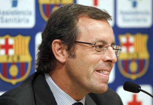 El presidente del Barcelona, Sandro Rosell.