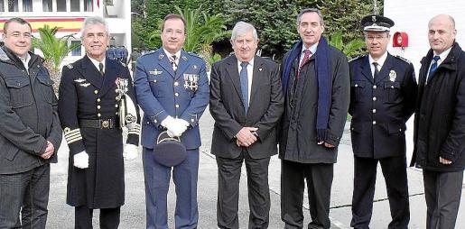 Antoni Aguiló, Francisco Arenas, Ramón Balastegui, Joan Albertí, Carlos Simarro, Josep Porcel y Antoni Solivellas.