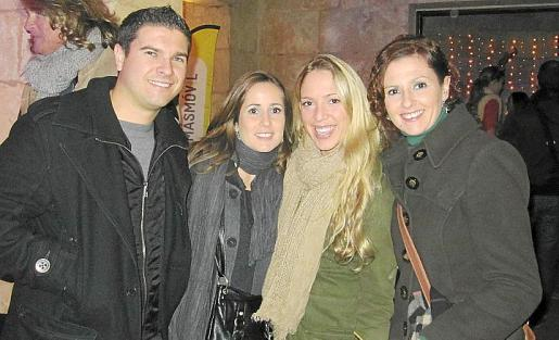 David Domenech, Patricia López, Carme Melero y Gemma López