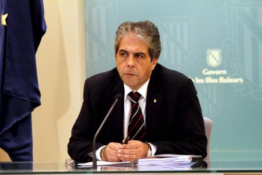 Rafel Bosch, conseller de Educació del Govern balear.