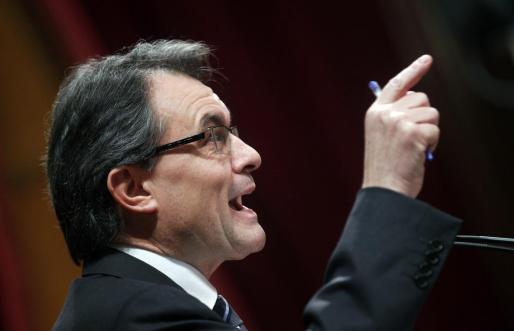 Artur Mas ha sido reelegido presidente de la Generalitat.