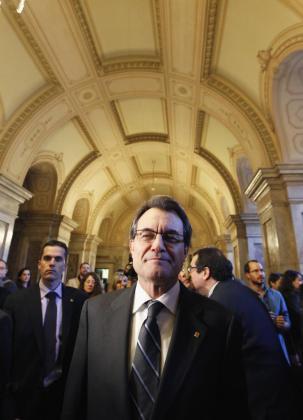 El miembro de CiU Artur Mas.