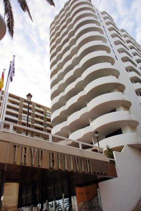 Fachada del hotel Tryp Bellver.