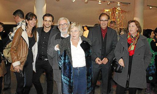 Isabel Picallo, Llorenç Carrió, Llorenç Valverde,Antònia Albons, Joan Mas y Francisca Ferrer.