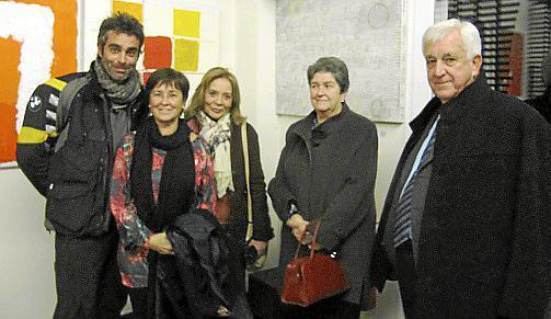 Sergio Roca, Cristina Rotger, Aída Mata, Maria Rotger y Gabriel Cañellas.