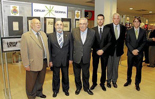 Manolo López Lacal, Paco Llabrés, Pere A. Serra, Javier Morente, Damià Vich y Juan Antonio Ramonell.