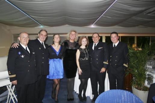 José Luis Navas, Felipe Baza, Claudia Suárez Neuhaus, Silvia Núñez, Montse Bordoy, Miguel Vidal y Jesús Coll.