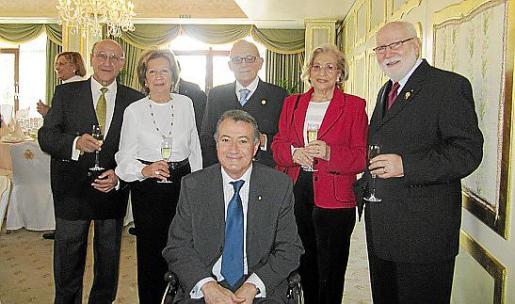 Jerónimo Sáiz, Maria Àngels y Antón Chacártegui, Ramón Sales, Maria del Pilar Fernández y Juan Manuel Bonnín.