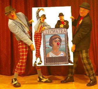 """La compañía Germans Mèmoli presenta el espectáculo """"Cleopatra""""."""