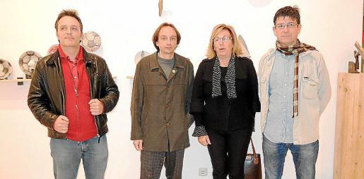 Jokín Aizpurua, Marcos Vidal, Maria Payeras y Toni Garreta.