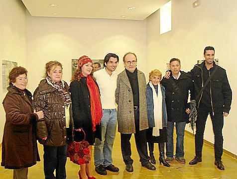 Carmen Feliu, Marga Bibiloni, Xisca Sureda, Àngel Colomer, Pere Lorente, Aina Segura, Francis Expósito y David Martín.