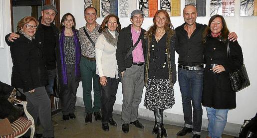 Mercedes Martínez, Joan Contestí, Soledad Sarabia, Tomás Alias, María Luisa Vallés, Joan Porcel, Margarita Forteza, Jorge Cabral y Laura López-Palomo.