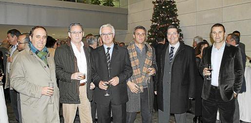 Toni Mercant, José Maria Campuzano, Jaume Ferrando, Joan Llabrés, Patrick Reynés, Joan Rosselló
