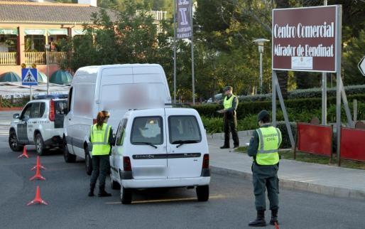 La Guardia Civil está intensificando los controles en las urbanizaciones de Calvià.