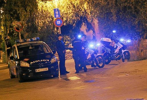 La detención la realizó un coche patrulla 'zeta' del Cuerpo Nacional de Policía en Cala Major.