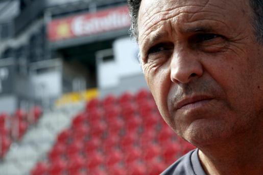 El entrenador del Mallorca, Joaquín Caparrós, en una imagen de archivo.