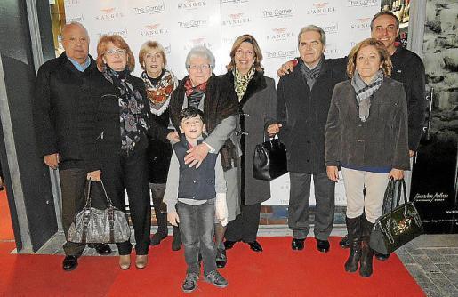 Mateu Martorell, Antonia Guasp, Antonia Riera, Antonia Cantallops, Arnau Torrens, Maria del Carmen Miralles, Mateu Gual, Francisca Marqués y Tomeu Torrens.