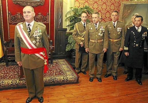 La Pascua Militar se celebró con una recepción en la sede del Gobierno Militar de Menorca.