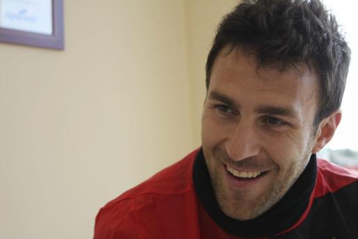 El delantero del Mallorca, Víctor Casadesús, en una imagen de archivo.