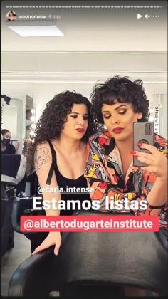 Carla Vigo, sobrina de Letizia, protagonista del videoclip de Amor Romeira
