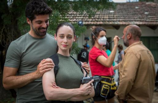 Miguel Ángel Muñoz y Elena Rivera, protagonistas de 'Sequía'