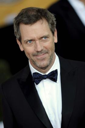 El actor Hugh Laurie posa hoy, 25 de enero de 2009, a su llegada a la entrega anual de los Premios del Sindicato de Actores de la Pantalla (SAG).