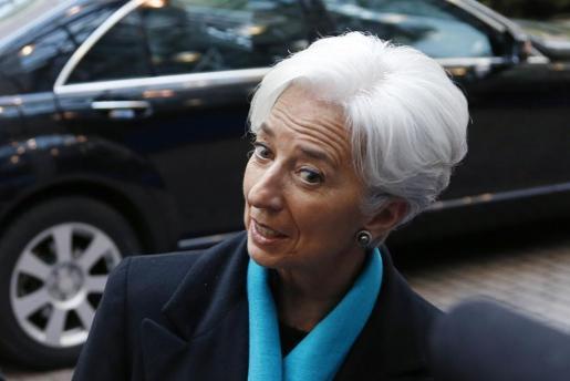 Christine Lagarde, directora del FMI, en una imagen de archivo.