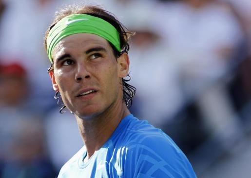 Nadal, en el torneo Indian Wells de 2012.