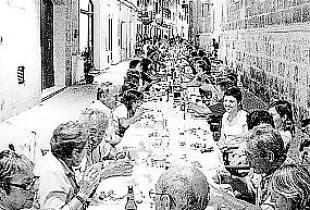 Comida de Navidad de Ciutadella Antiga.