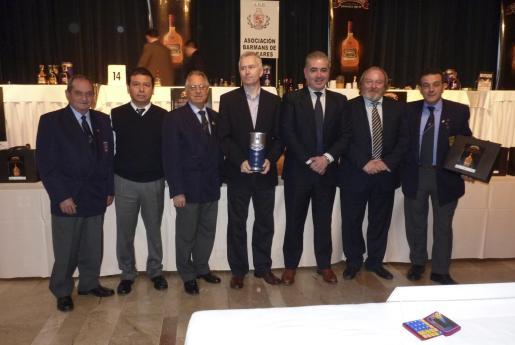 Antonio Cladera, Juan Carlos Cortez, Juan Villalonga, Peter Martin, Javier Valdivieso -director general de Appelton-; José Luis Beltramino y Antonio Barea.