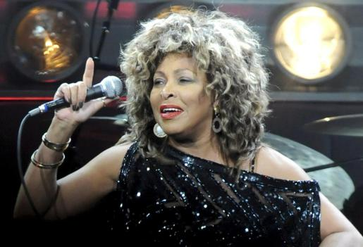 La cantante estadounidense Tina Turner, en una de sus última actuaciones, en 2009.