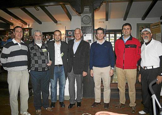 Jaime Timoner, Miguel Deyá, Antonio Fuertes, Damián Vich, Fernando Gilet, Bernat Llobera y Pau Sastre.