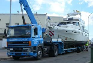 Transportes Bernardo Pons en Sant Climent, Menorca