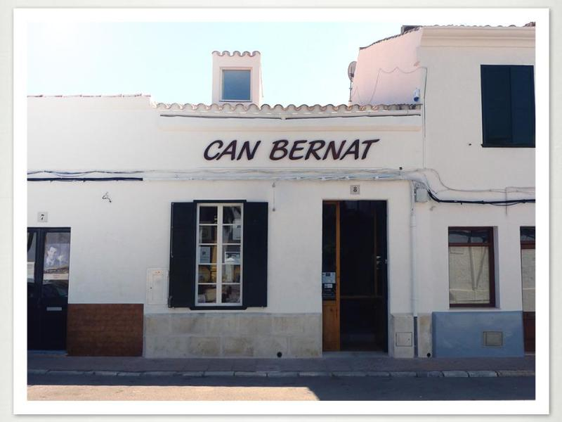 Can Bernat, productos típicos de Menorca