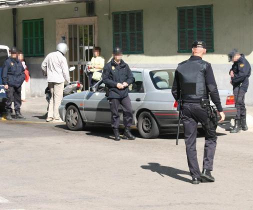 El arresto fue practicado por agentes del Grupo de Atracos del Cuerpo Nacional de Policía.