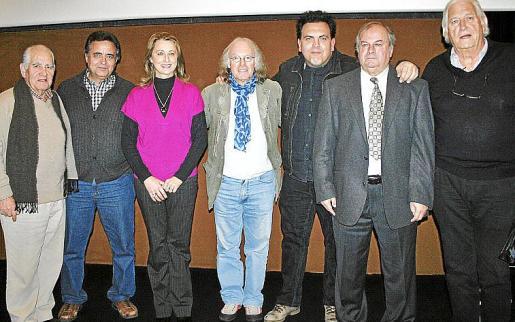 Miguel Moreno, Pep Jiménez, Mari Nova, Gustavo, Toni Bestard, Miquel Vidal y Sandro Fantini.