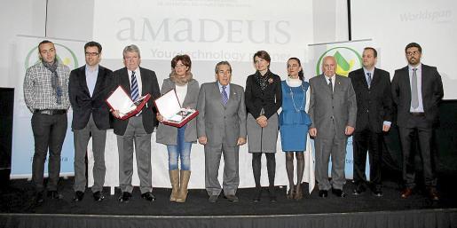 Llorenç Jiménez, Jaime Juan, Enrique Antón, Aina Salom, Pedro Iriondo, Marga Durán, Sylvia Riera, Nadal Torres, Antonio Deudero y Borja Risueño.