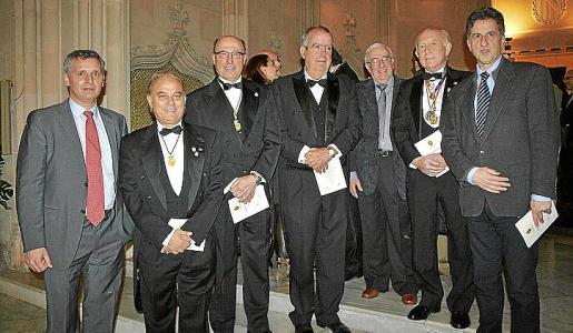 Guillem Salvá, Juan Buades, Juan Besalduch, Francesc Bujosa, Manel García Caparrós, Alfonso Ballesteros y Miguel Roca.