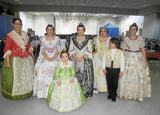 Elena Gutiérrez, Mª Pilar Álvarez, Marina Forteza, Vanesa Escobar, Loli García, Miguel Padilla y Mar Sánchez.