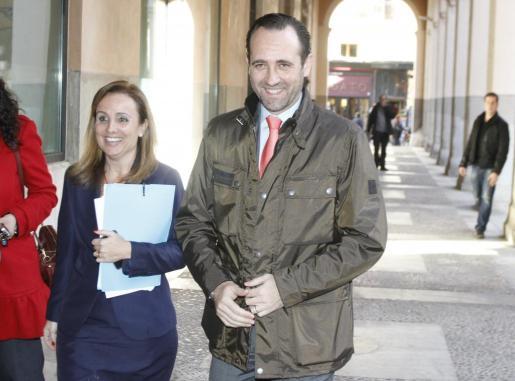 José Ramón Bauzá y Mabel Cabrer, en una imagen de archivo.